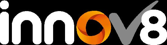 innov8 logo reversed